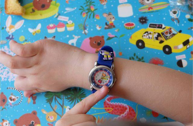 Une montre pédagogique pour apprendre à lire l'heure !
