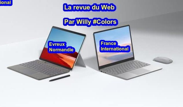 Evreux : La revue du web du 17 janvier 2021 par Willy #Colors