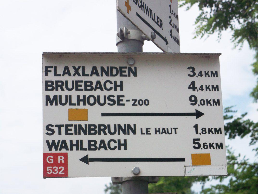 LUEMSCHWILLER : BALADE VERS STEINBRUNN (R 432) - 11,7 km - D+ 238 m - 3 h 15 mn – 2/6