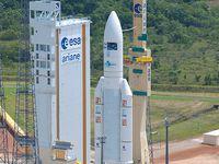 Les étapes de préparation et de lancement d'une fusée Ariane 5.