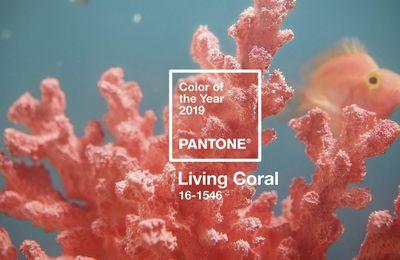 Après l'Ultra violet, place au Living Coral 2019 !