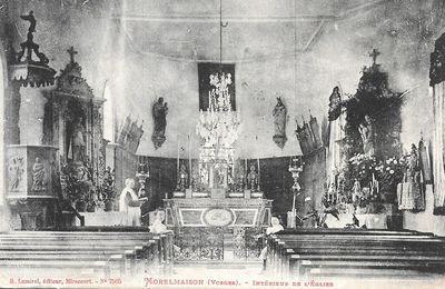 intérieurs des églises vosgiennes            SECOND ARTICLE