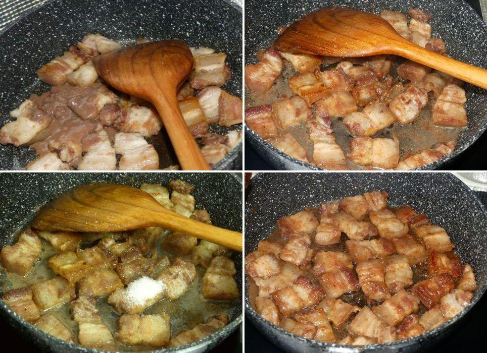3 recettes à base de porc