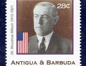 T. Woodrow Wilson, 28ème Président des Etats-Unis
