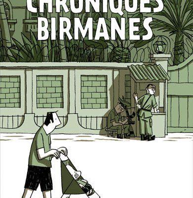 Chroniques Birmanes-Guy Delisle
