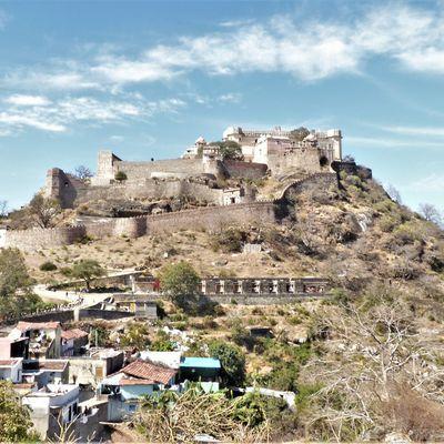 Udaipur (4) ... Tour dans la région (1) : à la forteresse de Kumbhalgarh