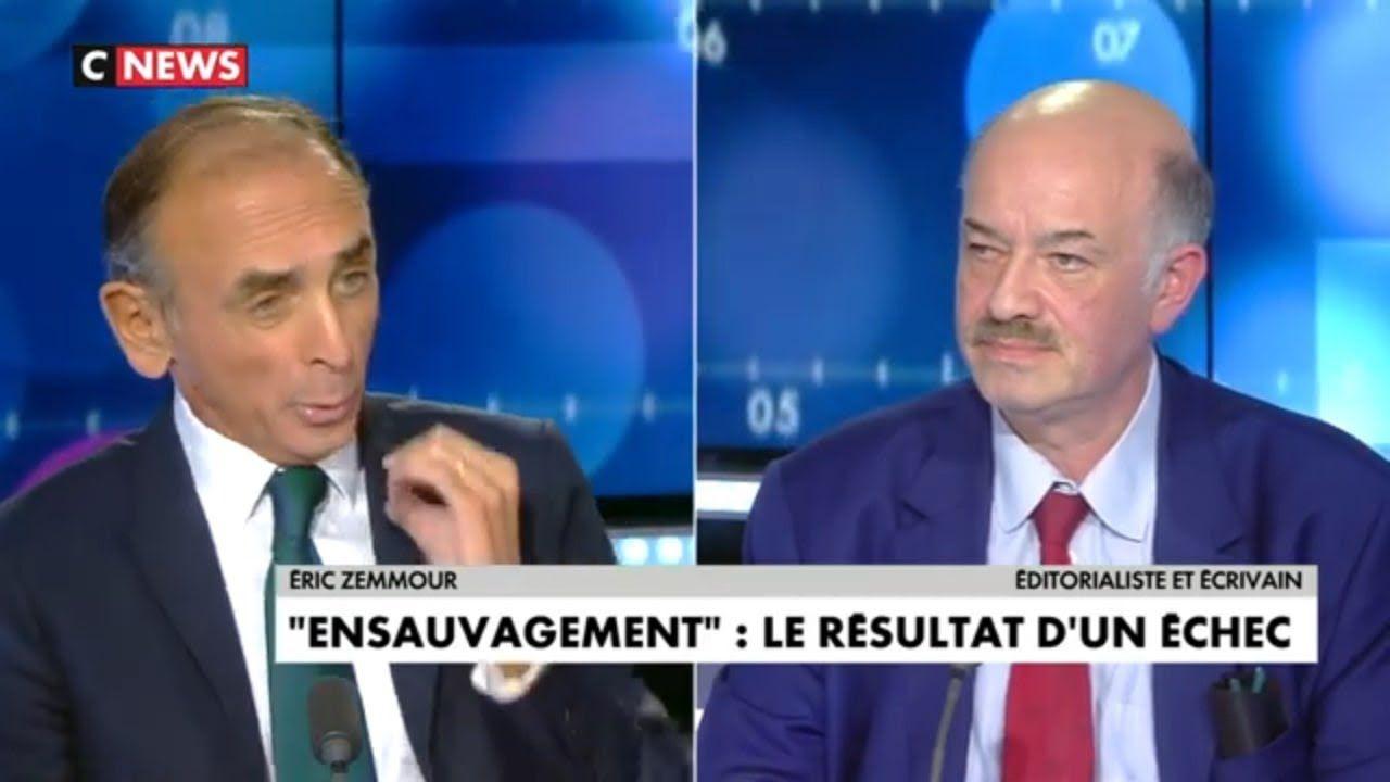 Video: superbe confrontation entre gens intelligents. Le catholique Zemmour ET le franc-maçon Alain Bauer, sur la crise française.