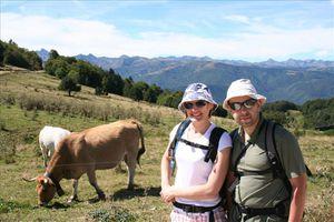 Jérôme et Delphine en Ariège...