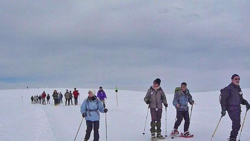 Sortie Raquettes Plateau de Beille du 13 au 16 Mars 2011