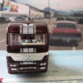 CAMION MERCEDES ACTROS 1857 MATCHBOX 1/97 AVEC AUTOCOLLANT - car-collector.net