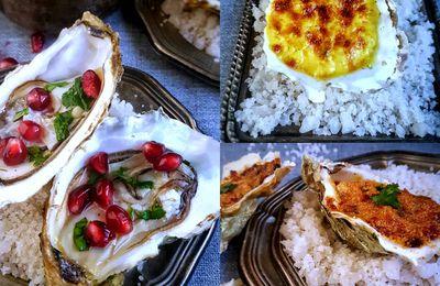 Recettes d'huîtres pour un apéro chic