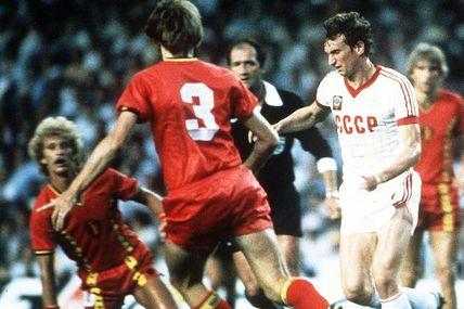 Coupe du Monde 1982 en Espagne, Groupe A: Belgique - Union Soviétique