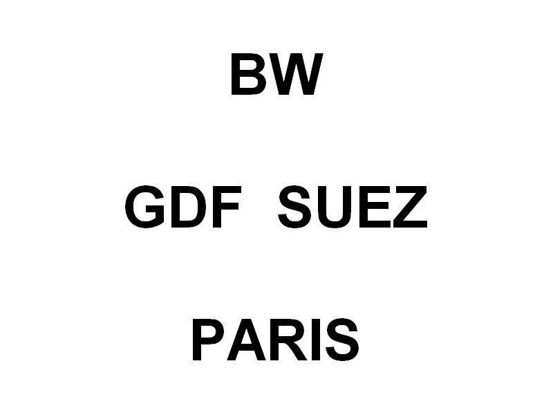 BW  GDF  SUEZ  PARIS
