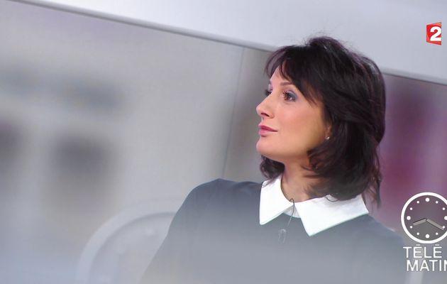 📸 LAURENCE OSTOLOZA @France2tv @telematin ce matin #vuesalatele