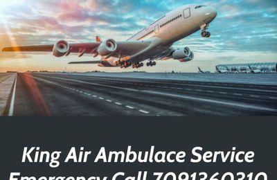 King Air Ambulance Service in Kolkata: Experienced and Advanced Service Provider