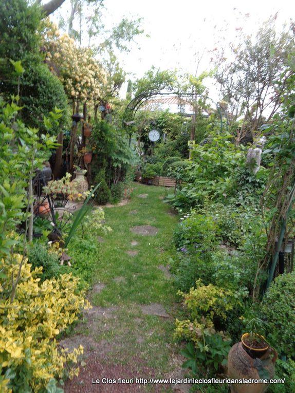 Mon jardin Le Clos fleuri à la mi Mai ......