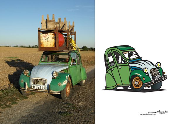 2cv Cartoon 2…