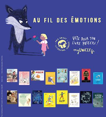 Les ouvrages des catégories 3-5 ans et 6-8 ans du Prix de littérature jeunesse UNICEF en livres audios gratuitement en ligne