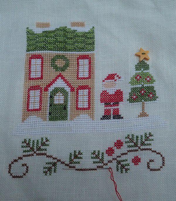 Le village du Père Noël : sa maison