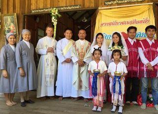 Des nouvelles du père Nicolas Lefébure en Thaïllande