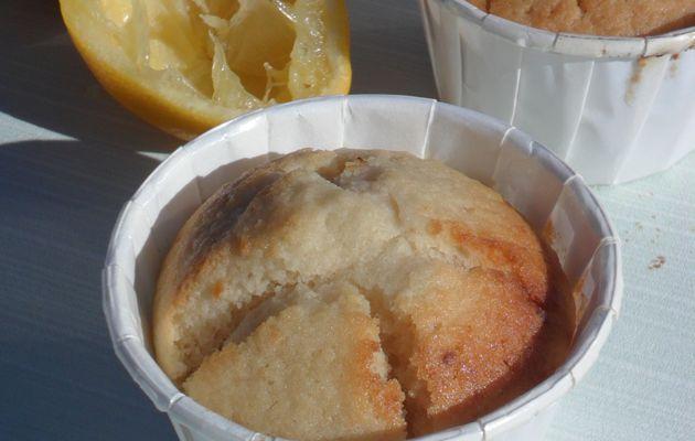 Muffins à la bergamote et au lait de riz (végétalien)