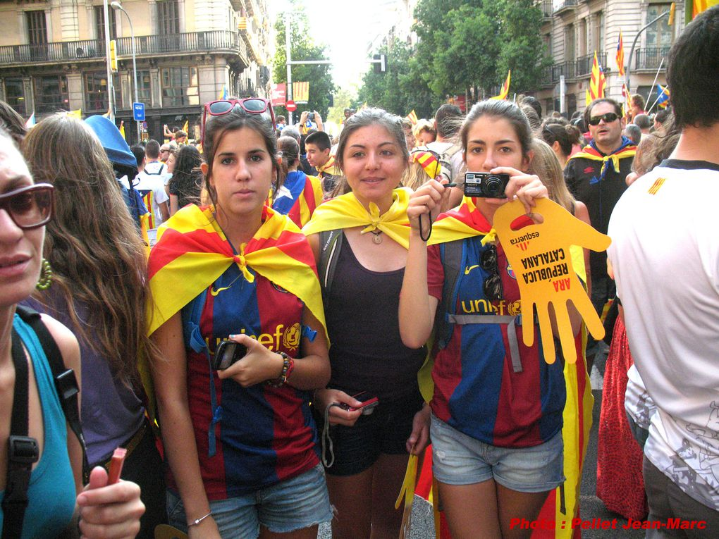 11 septembre Diada Barcelona