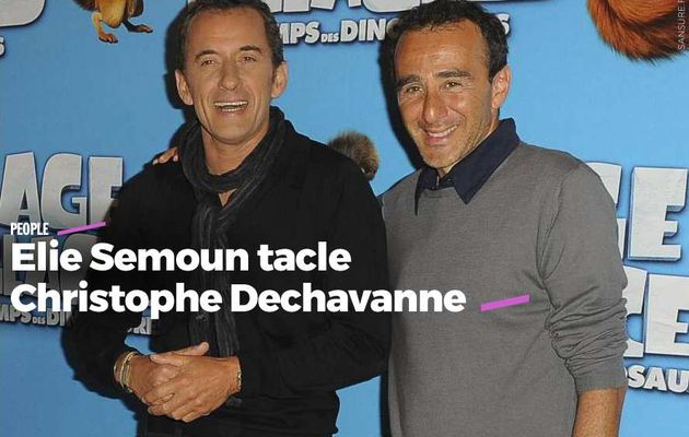 Elie Semoun tacle Christophe Dechavanne #clash