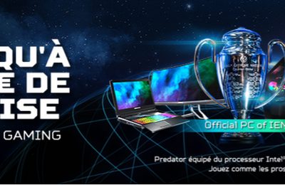 "Promotions : grande opération déstockage ""Acer Gaming Week"""