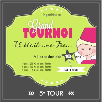 Tournoi Fée du Scrap 5eme tour !!!!