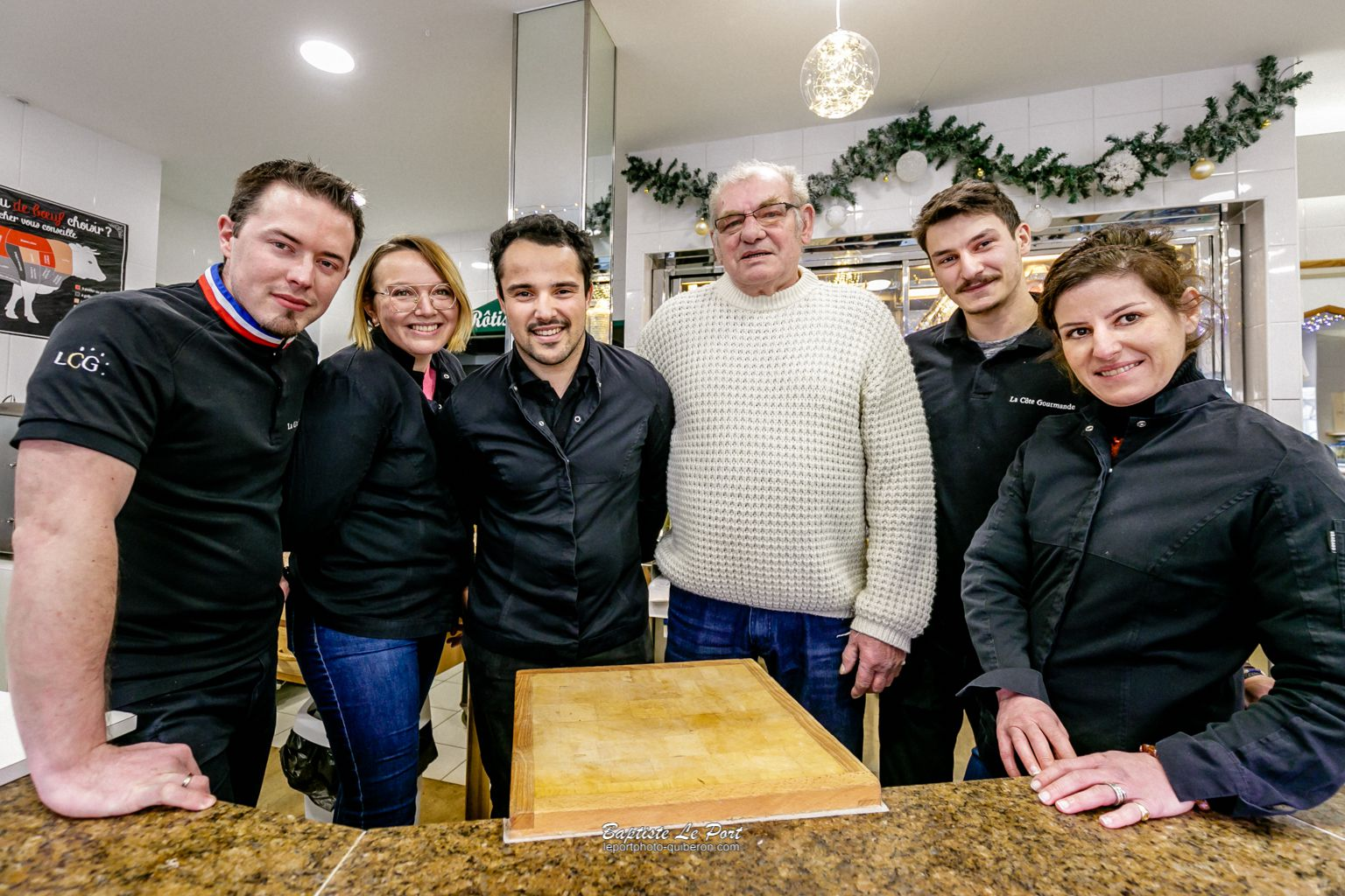 10 décembre - Reportage d'entreprise à la Côte Gourmande