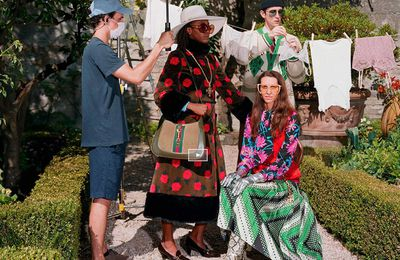 GUCCI EPILOGUE CAMPAIGN, RESORT 2021