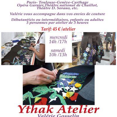 Les Ateliers en Ythak, Cours et Formations
