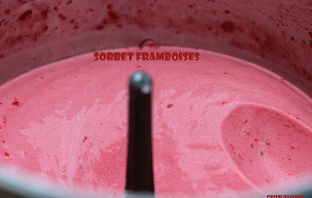 ^^Sorbet express framboises au Cook'in^^