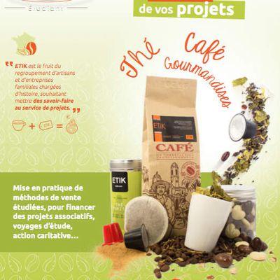 Vente de Café et Thé par les Bac Pro vente et commerce du lycée d'AIX