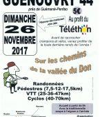 sur les chemins de la vallee du don, 44290 Guenouvry (Sortie VTT du 26/11/2017 / Ref. : 51338)