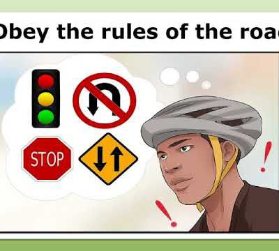 How to Ride a Bicycle in Traffic