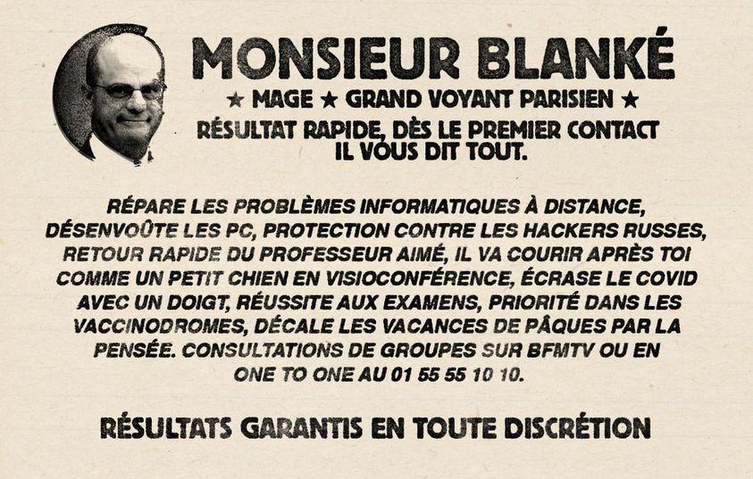 """Jean-Michel Blanquer: """"Où sont passés les tuyaux..."""" (air bien connu)"""