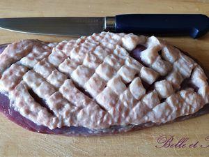 Brochettes de magret de canard aux épices