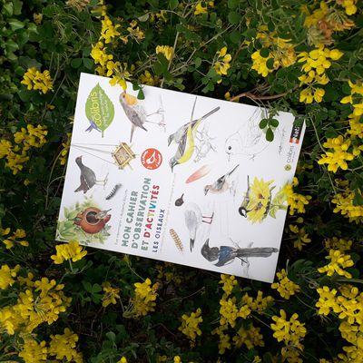Livre : mon cahier d'observation et d'activités : Les oiseaux