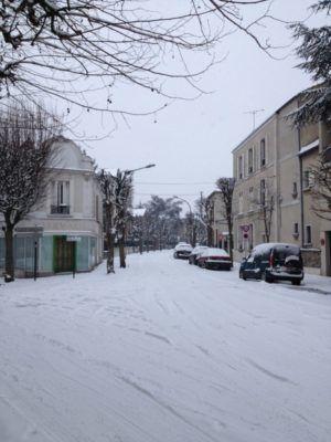 Album - neige au Raincy en janvier 2013