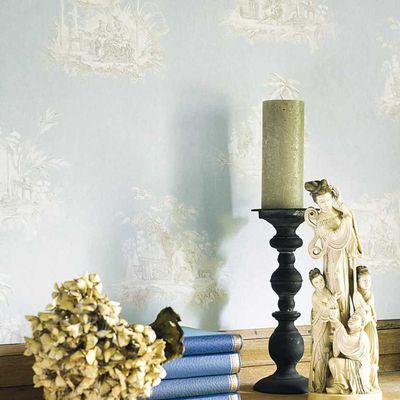 Fontainebleau de Casadeco, la nouvelle collection de papiers peints et tissus coordonnés