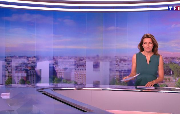 📸27 ANNE-CLAIRE COUDRAY @ACCoudray @TF1 @TF1LeJT pour LE 13H WEEK-END #vuesalatele