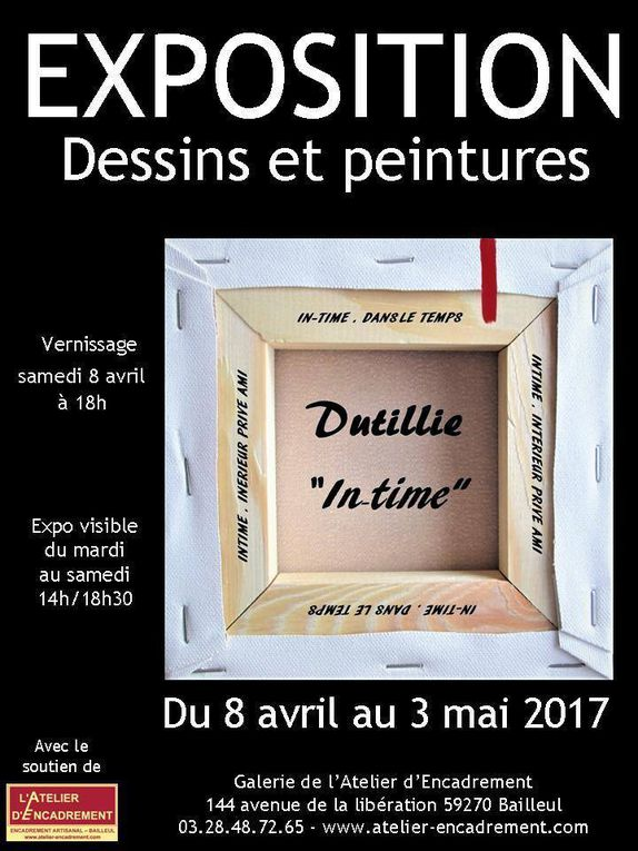 Jean Michel DUTILLIE expose en Avril 2017