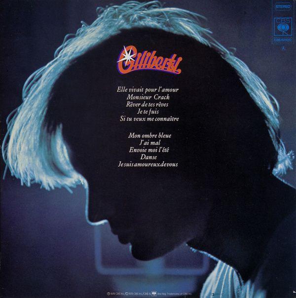 Quatre 45 tours et trois albums... Ma période musicale en tant qu'auteur-compositeur de 1973 à 1981.