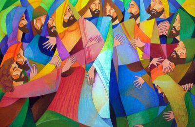 Retraite en ligne pendant le temps pascal : Actes des Apôtres 2 -  En sortant d'elle-même l'Eglise prend conscience d'elle-même, de son appel, de son fonctionnement, de la nécessité de son ouverture...