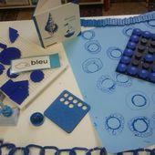 Exposition temporaire : BLUE - Ecole de W@rlaing