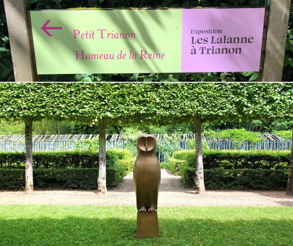 Les Lalanne à Trianon : un bestiaire poétique