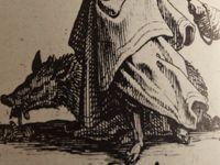 Jacques Callot, les 7 pèches capitaux, sanglier-Gula, chienne-Inuidia, crapaud-Avaricia, Cl.. Elisabeth Poulain