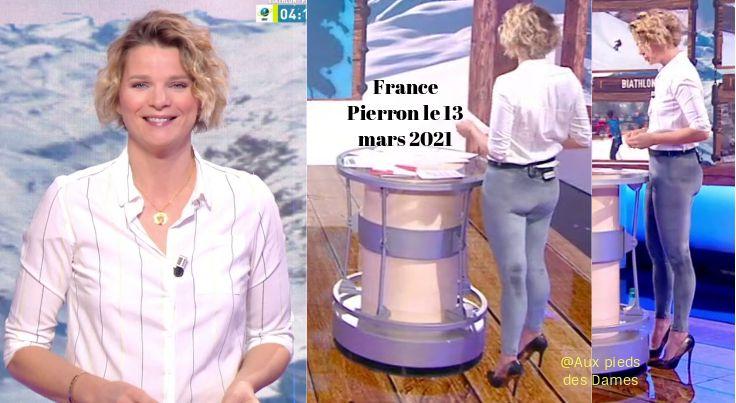 France Pierron le 13 mars 2021. La Station. Pieds
