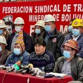 Bolivie : face aux menaces de coup d'état 16 leaders de groupes sociaux ont décidé de s'unir pour défendre le président élu démocratiquement - Ça n'empêche pas Nicolas